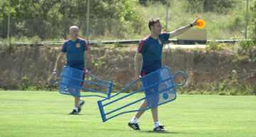 La Selección Española sub-19 ya trabaja en El Albir