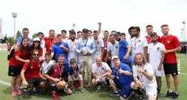 GALERÍA: Celta, Málaga y Athletic Club triunfan en la gran fiesta del fútbol inclusivo en Paterna