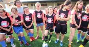 Más de 30 niñas asistieron al último Clínic Valenta 2018-2019 en Onda