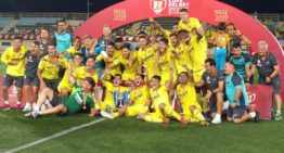 El Villarreal se impone al Atlético de Madrid y gana la primera Copa del Rey Juvenil de su historia (0-3)