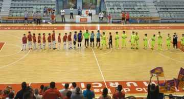 Todos los equipos valencianos cayeron en la Previa de los Campeonatos de España de clubes de fútbol sala base