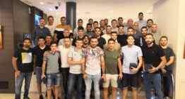 Entrenadores y técnicos de CD Castellón echan el cierre a la temporada 2018-2019