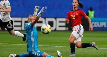 Alemania aprovechó el único error de la Selección Española Femenina (0-1)
