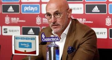 Luis de la Fuente cree que el España-Italia del Europeo Sub-21 'podría ser la final'