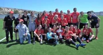 Elche CF y CF La Nucía conquistaron las Copas FFCV de Alicante en El Campello