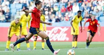 España logra su primera victoria en un Mundial Femenino tras tumbar a Sudáfrica (3-1)