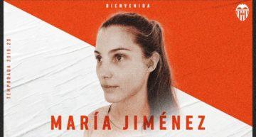 El Valencia anuncia el fichaje de María Jiménez hasta 2021