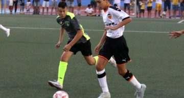 El Valencia CF Alevín debutó en el COTIF Promeses ajeno al 'terremoto' en el club