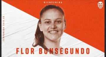 Flor Bonsegundo, séptimo refuerzo del Valencia para la próxima temporada