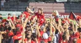 ¡A Segunda B! Un gol de Sanjulián en el minuto 93 lleva a CF La Nucía a hacer historia (2-1)