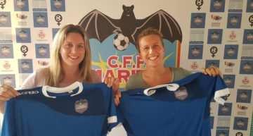 El CFF Marítim anuncia los fichajes de Lucy y Hannah Goffe