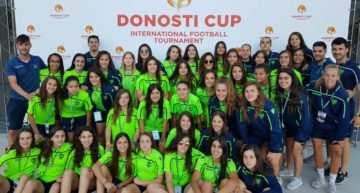 Gran actuación de los equipos del Levante Femenino en la Donosti Cup