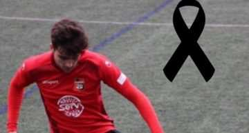 Tragedia en CF La Nucía tras el fallecimiento del juvenil Miguel López