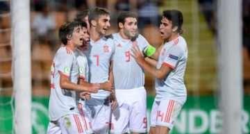 Un 'doblete' de Ferran Torres da el Europeo Sub-19 a la generación de oro del fútbol español (2-0)