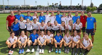 Primera toma de contacto del Valencia Femenino 2019-2020