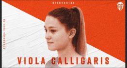 Viola Calligaris ficha por el Valencia hasta 2020