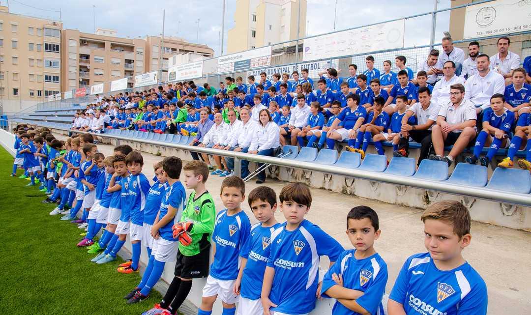 El Burriana FB presenta a sus equipos para la temporada 2016-2017