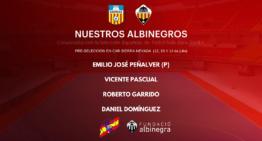 Cuatro jugadores del Castellón – ASORCAS convocados por la Selección
