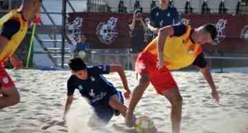 La Selección Juvenil FFCV de futplaya cayó en la fase de grupos en Cádiz