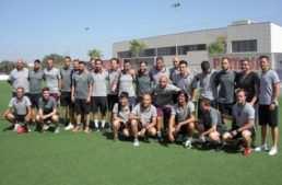 El Curso Intensivo Profesional de Entrenador FFCV se 'coló' en la Ciudad Deportiva del Villarreal