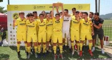 Prebenjamín y Benjamín del Villarreal ponen la guinda a su año en la Costa Girona Cup