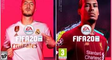 El FIFA20 contará con Eden Hazard y Van Djik como portada en todo el mundo