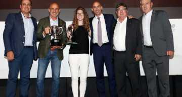 El mejor 'fair play' de la 2018-2019: Ana Sáenz de Pipaón, premio Zaballa por atender a un contrario