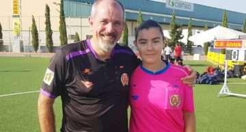 Aitana y Miguel: el relevo generacional de árbitros se produce en el COTIF
