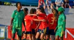 España debutó en el COTIF Cañamás Naranja sin contemplaciones ante Mauritania (0-11)
