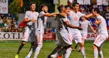 España dominó ante Rusia y ganó con merecimiento el COTIF Sub-20 2019