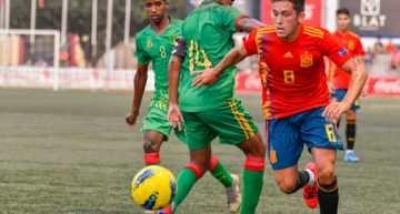 España supera a Mauritania y se cuela en la final (4-0)