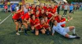 España se impuso al Villarreal por la mínima y es la vencedora del COTIF Cañamás Naranja femenino 2019