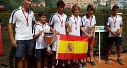 El Club de Tenis Valencia se proclama Campeón de España Infantil masculino