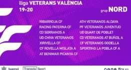 La FFCV anuncia los grupos oficiales y composición de la Liga de Veteranos