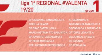 Ya disponibles los calendarios de los 3 grupos de Primera Regional Valenta femenina