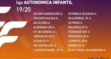 Oficial: calendarios FFCV de las Ligas Autonómicas Cadete e Infantil 2019-2020
