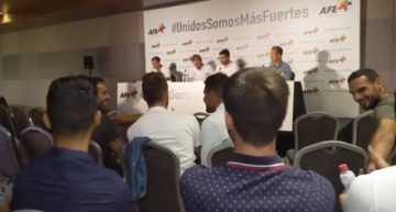 La AFE convocó este martes un encuentro entre futbolistas para debatir sobre la situación del colectivo