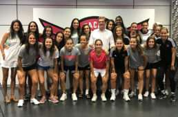 El CD Tacón estrena las sesiones RFEF de integridad en fútbol femenino