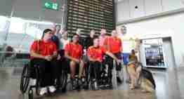 El A-Ball (fútbol en silla de ruedas) busca en China el reconocimiento mundial