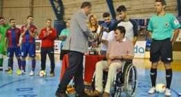 La FFCV se suma un año más al III Torneo benéfico de futsal Juan Beteta de Alzira
