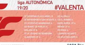 La Liga Autonómica Valenta ya tiene calendario 2019-2020