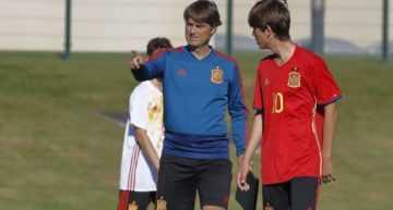 Abril e Igual entrenarán con la España Sub-15 de Julen Guerrero