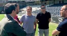 La RFEF inspecciona Castalia a dos semanas del partido de España Sub-21