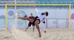 Tres valencianos jugarán con España la final de la European Beach Soccer League