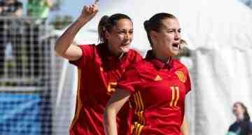 La selección española femenina de fútbol playa alcanza el primer puesto del ránking europeo