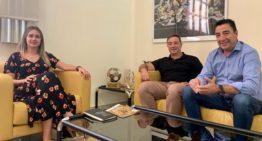 La FFCV y la Diputació de Castelló se reunieron para buscar acuerdos entre ambas instituciones