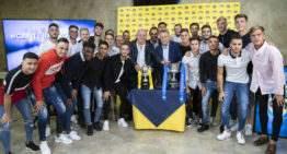 GALERÍA: Homenaje por todo lo alto a un Villarreal Juvenil 'A' para la historia