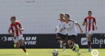 El Valencia prolonga su buen inicio liguero imponiéndose al Athletic Club (2-0)