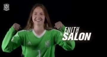 La valencianista Enith Salón ya se ha incorporado a la convocatoria de España Sub-19