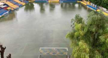 El fútbol base valenciano, paralizado ante el temporal que afecta a la Comunitat y a Murcia
